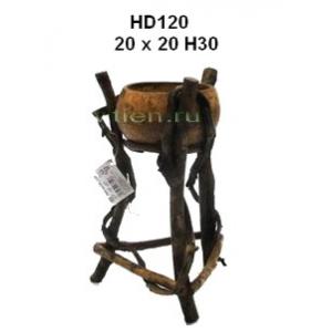 Кашпо из лиан HD120