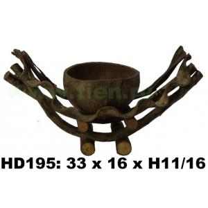 Кашпо из лиан HD195-A