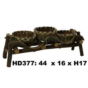Кашпо из лиан HD377-B