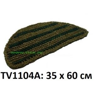 Коврик полукруглый 35*60 см TV1104A