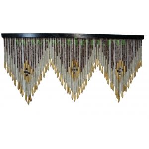 Шторы деревянные 90*60см 60 нитей TV3008