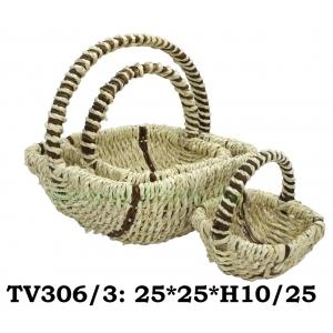 Корзинка квадратная 3 в 1  TV306/3-1