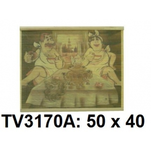 Панно бамбук с рисунком баня 50*40 см TV3170A-10
