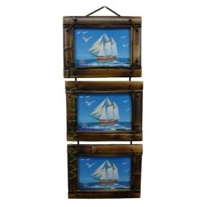 Рамка для фото тройная 13x18 см TV3220R-6-155