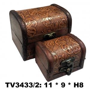 Шкатулки набор 2в1 TV3433/2-A