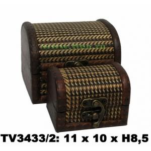 Шкатулки набор 2в1 TV3433/2-B