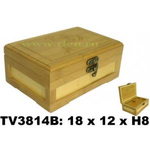 Шкатулка бамбуковая TV3814B-X