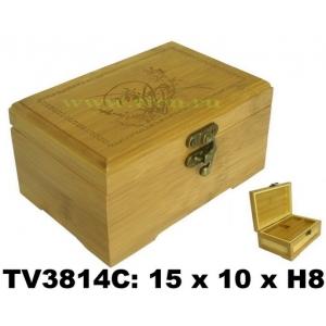Шкатулка бамбуковая TV3814C