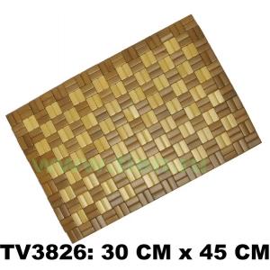 Сидушка бамбука  30*45 см TV3826-F