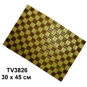 Сидушка бамбука  30*45 см TV3826-A