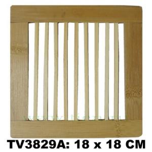 Подставка под горячее из бамбука 18 x 18 CM TV3829A
