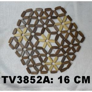 Подставка под горячее 16 CM TV3852-N (белый и коричневый)